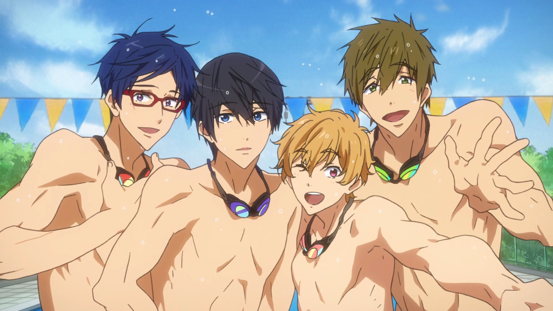 Free! -Dive to the Future- 제12화 스페셜 ED 장..