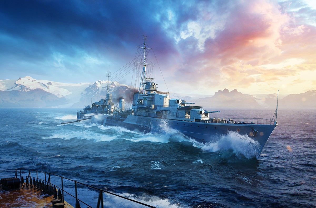 [WOWs] 영국 구축함 미리보기