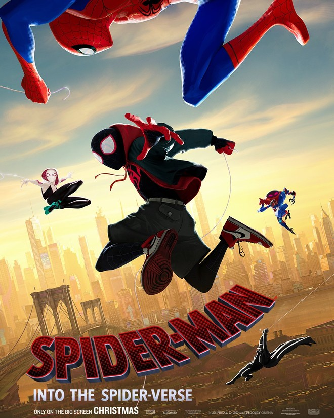 """Spider-Man: Into the Spider-Verse"" 포스터와.."