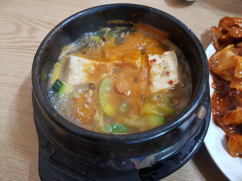 <너도나도식당 / 선유도> - 동네 우렁된장맛집!