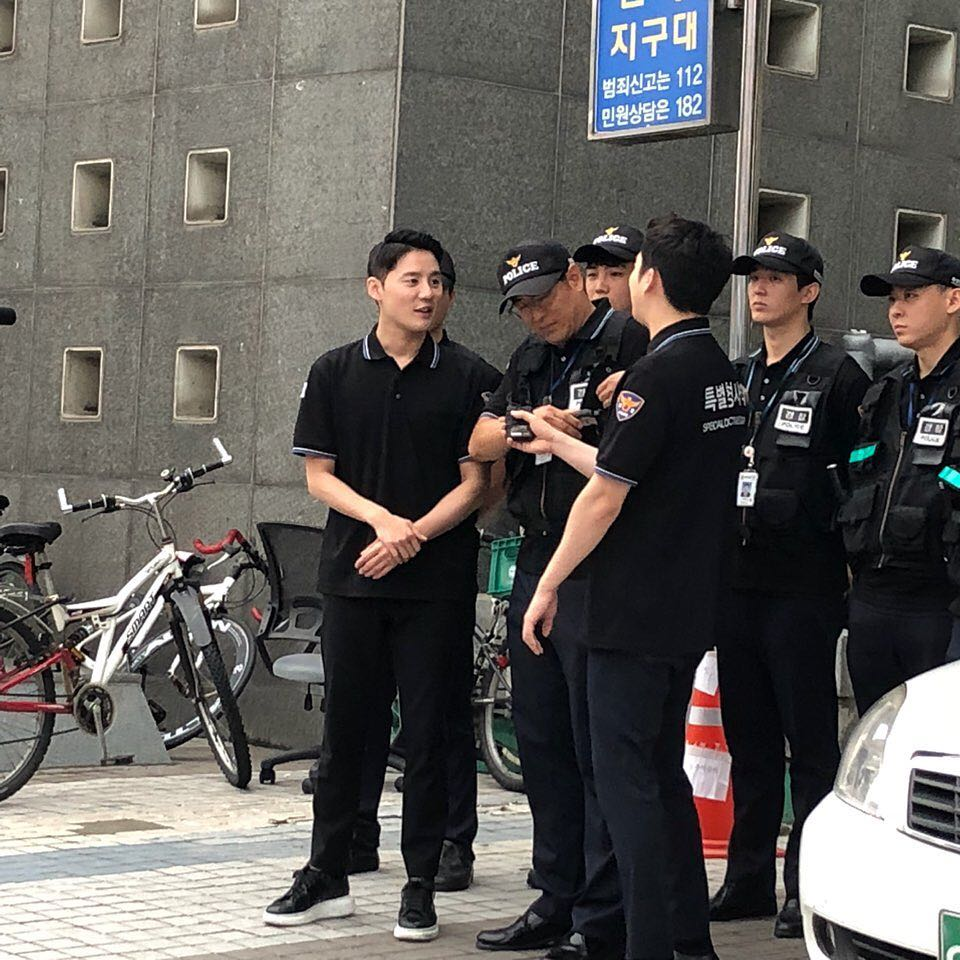 김준수 수경 20180830 경기남부경찰 소셜 라이브 방송 <제..