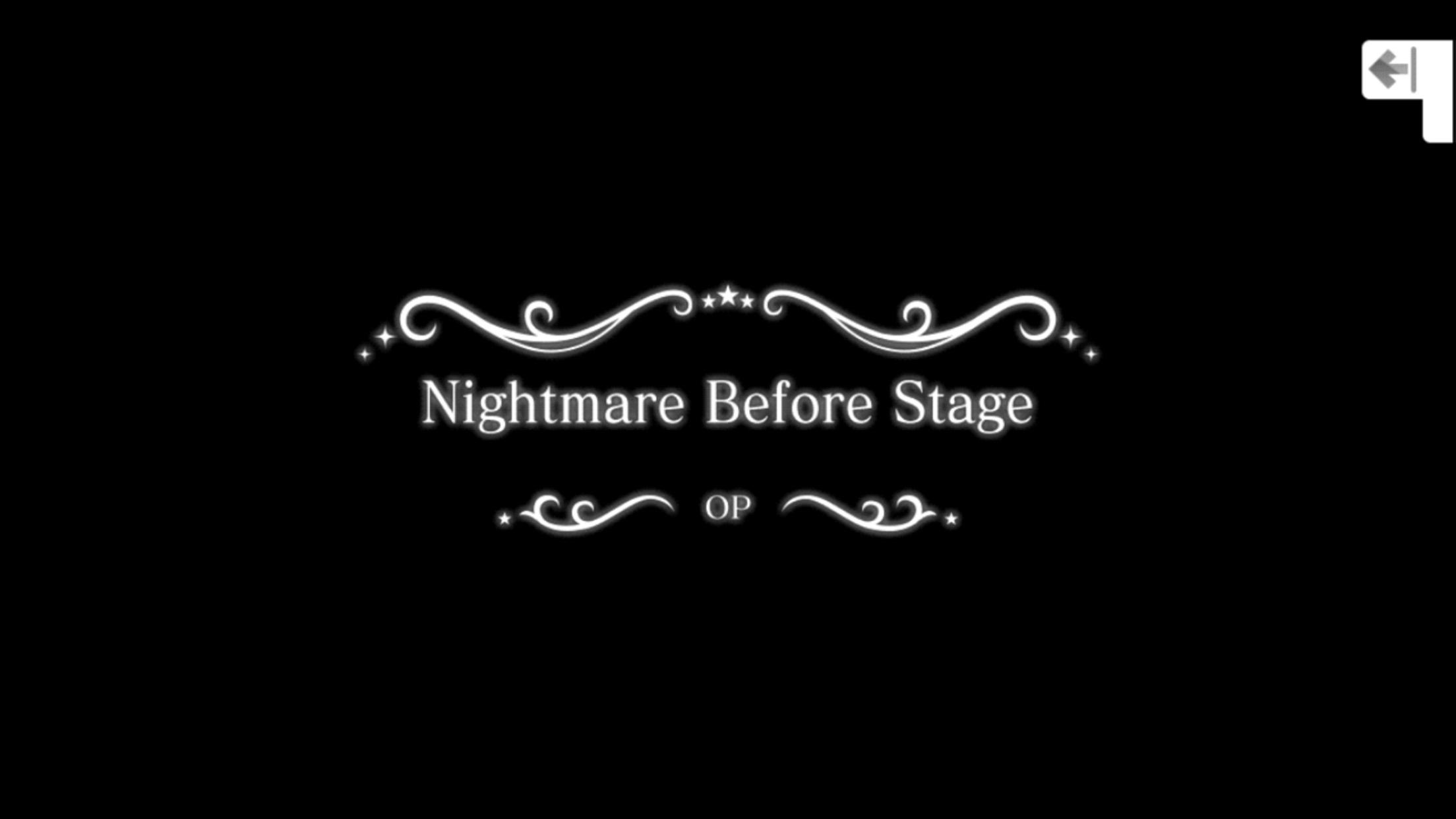 언데드 댄스록 오프닝: Nightmare Before Stage