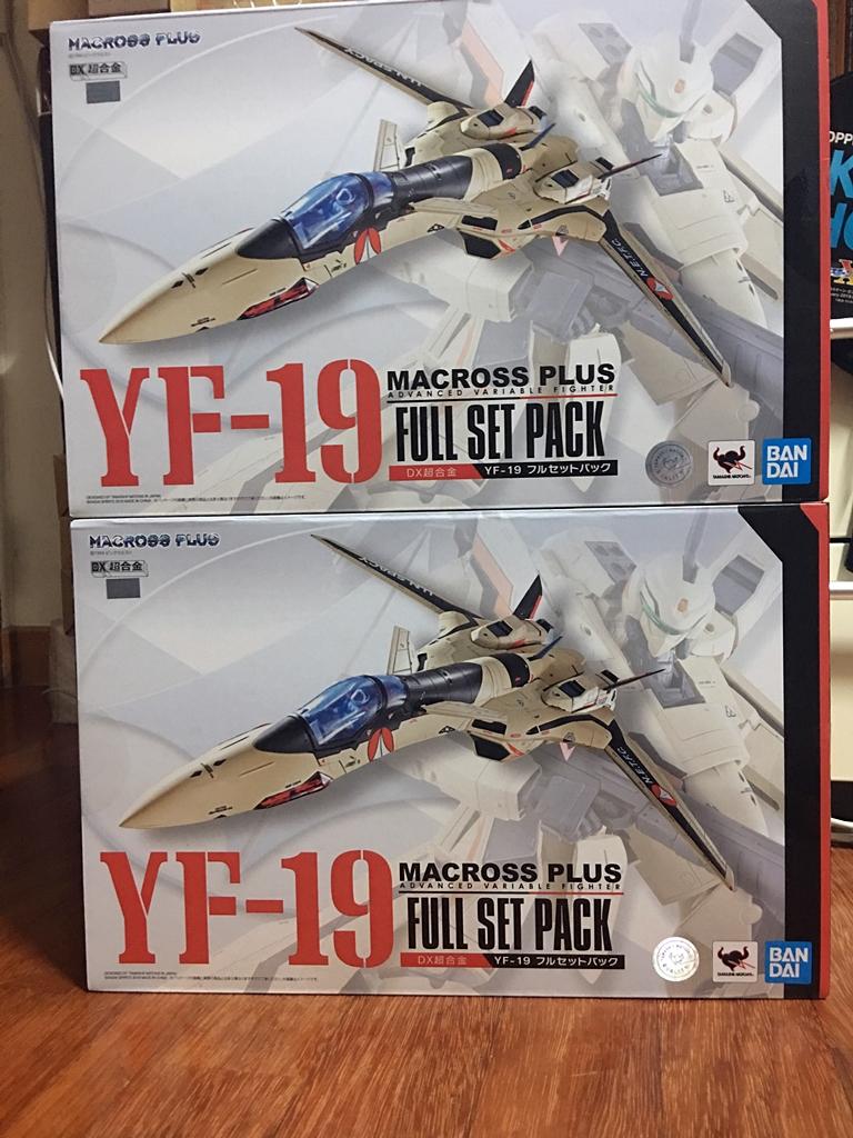 반다이 DX초합금 YF-19 풀세트팩