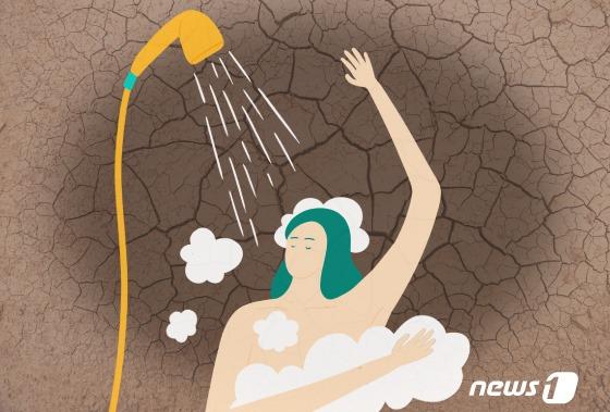 `건선`에 잦은 목욕은 피부의 적. . 실내온도 ..