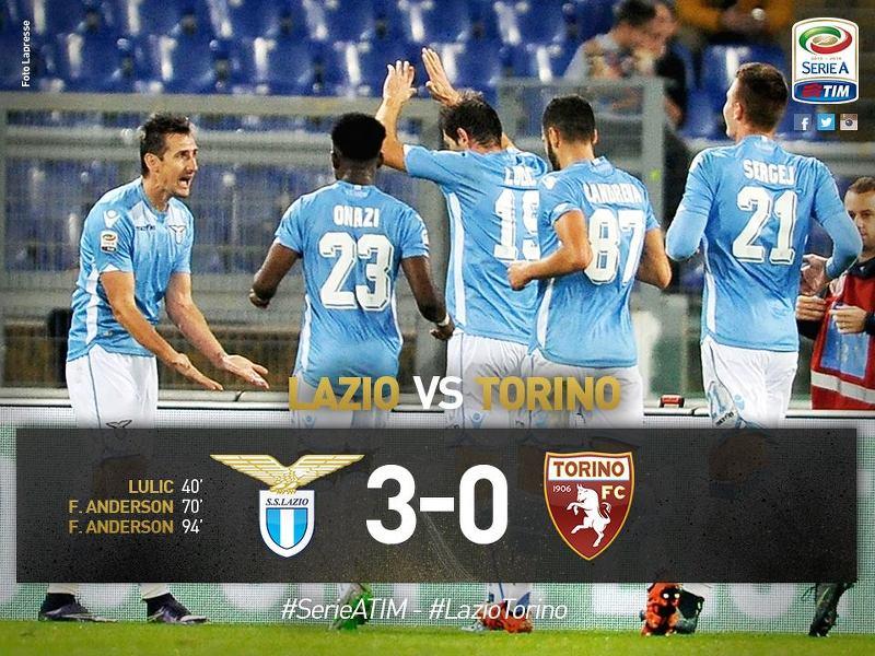 2015-16 Serie A 9R Lazio 3-0 Torino 감상