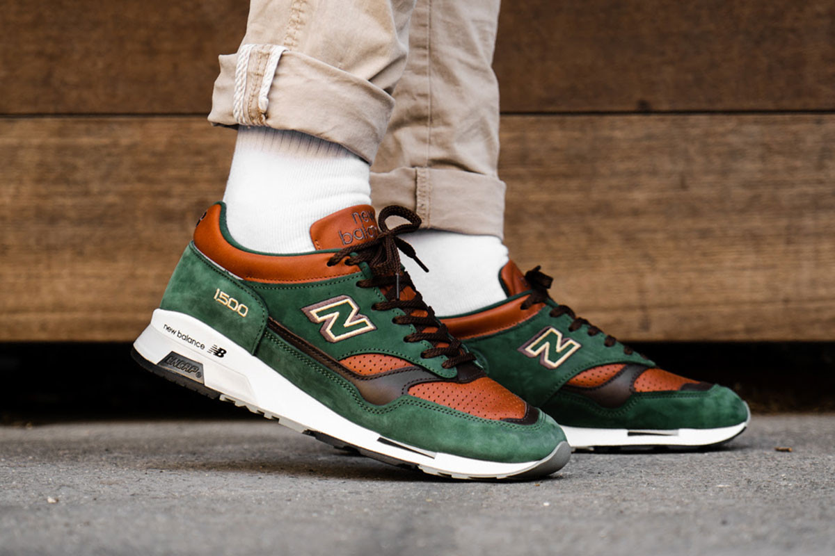 "- New Balance 1500 ""Robin Hood"" Flexes a P.."