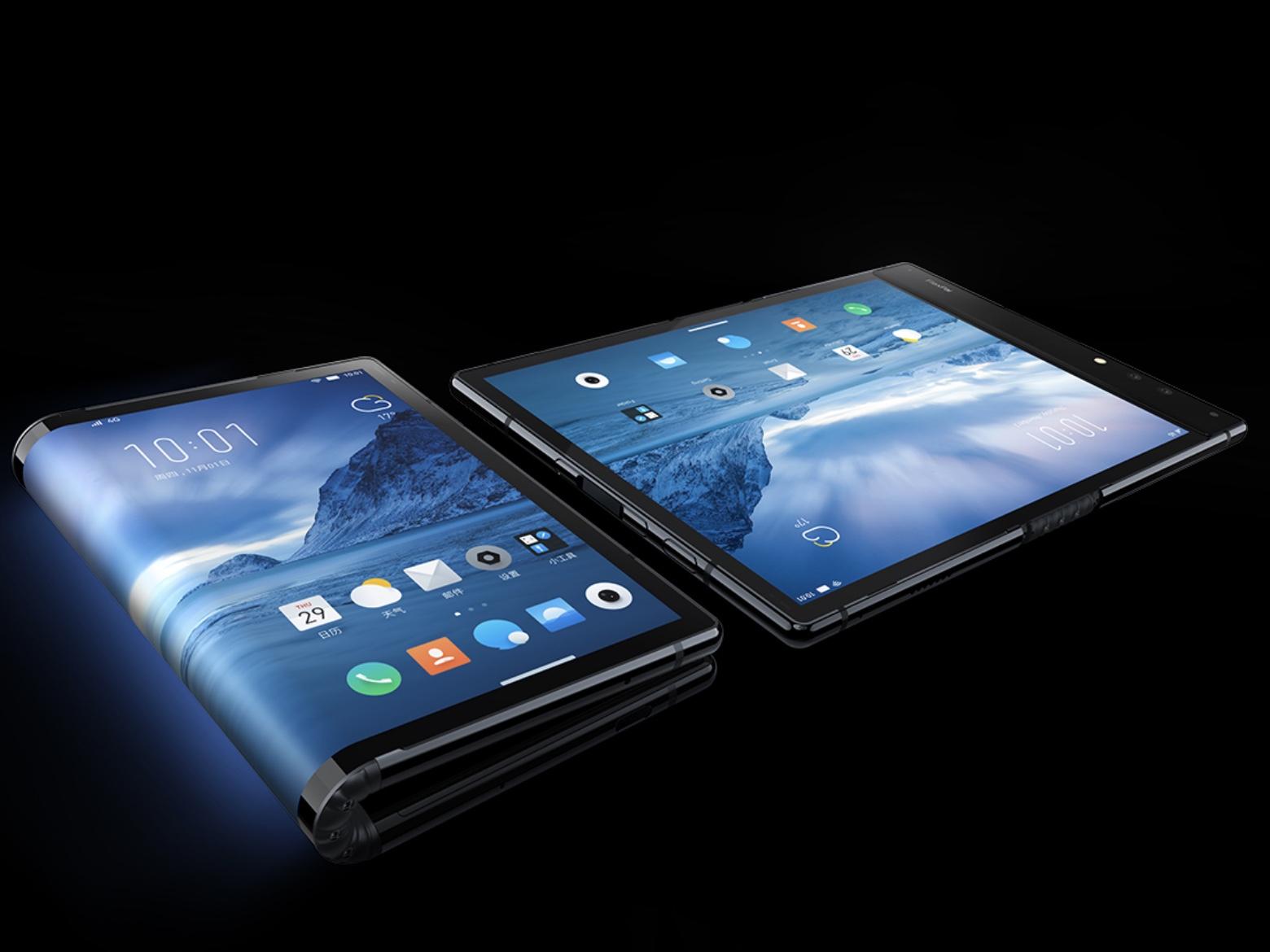 세계 최초 폴더블 스마트폰, 플렉스파이(FlexPa..