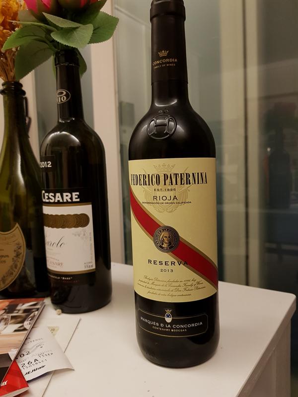 <Federico Paterna Reserva 2013> - 간만에 맛..