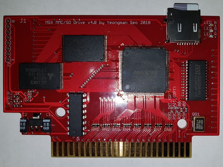 MMC/SD Drive V4 제작 #8 - OCM 기종에서 DCSG..