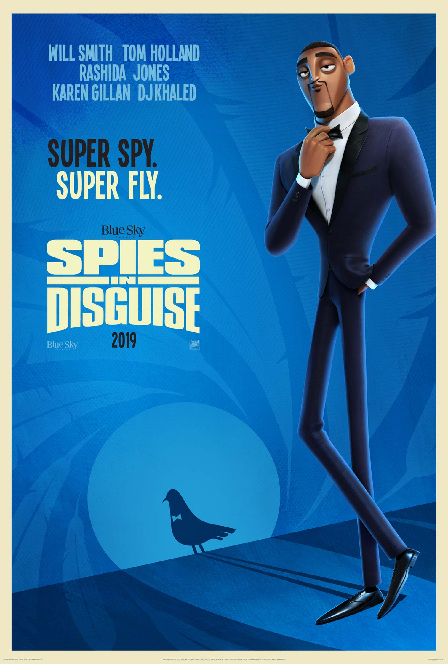 """Spies in Disguise"" 라는 작품의 포스터들 입니다."