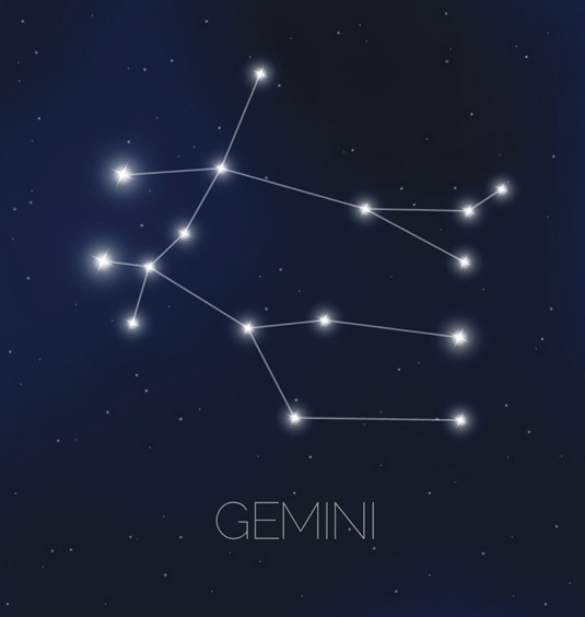 쌍둥이 자리(Gemini) 이미지