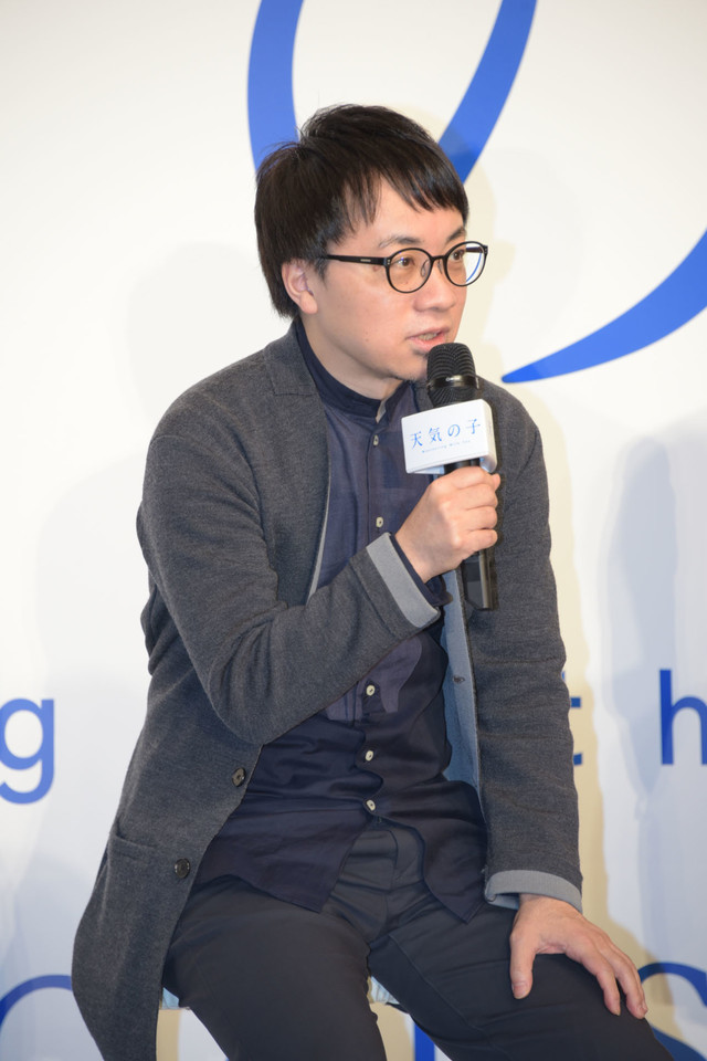 극장 애니메이션 '날씨의 아이'가 2019년 7월 19일에 개봉..