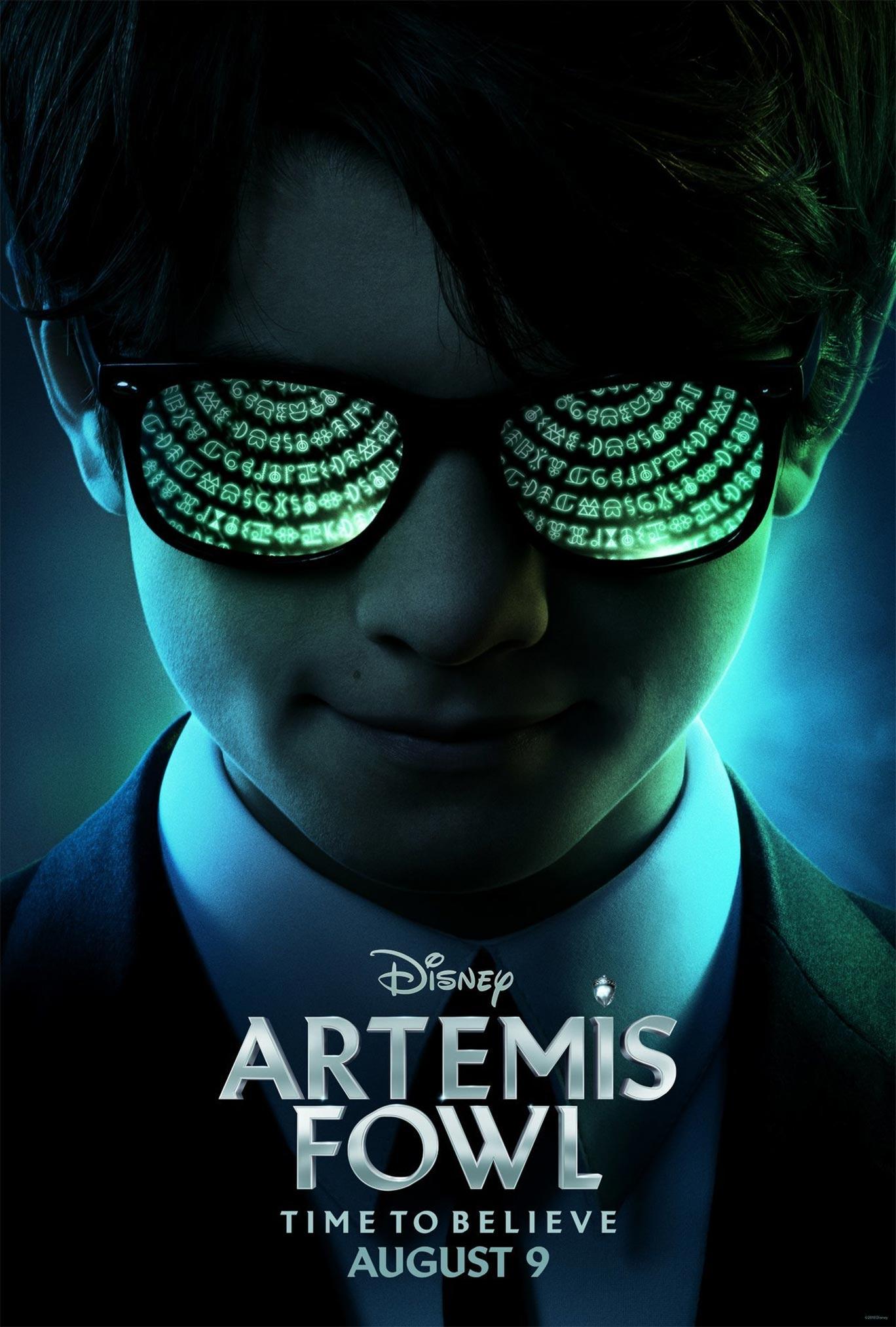 """또 다른 판타지 영화, """"Artemis Fowl"""" 입니다."""