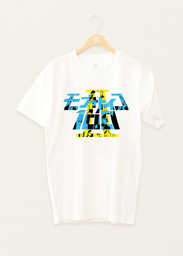 애니메이션 '모브사이코100 II'와 콜라보레이션한 티셔츠..