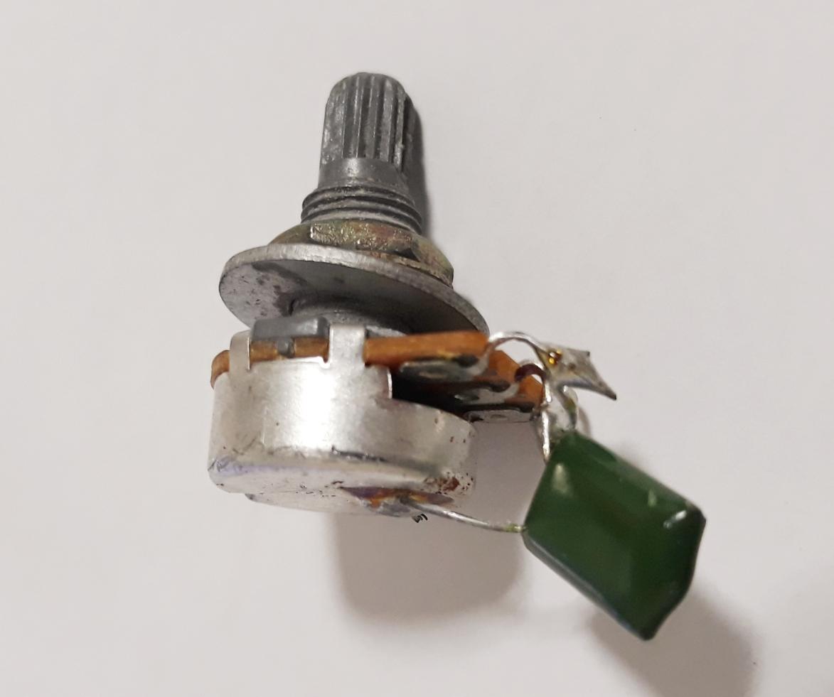 일렉기타 볼륨 톤 (기타포트, 포텐셔미터) 교체