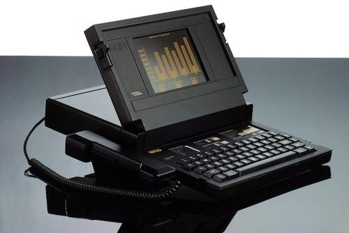 세계 최초 노트북은 지금봐도 아름답다
