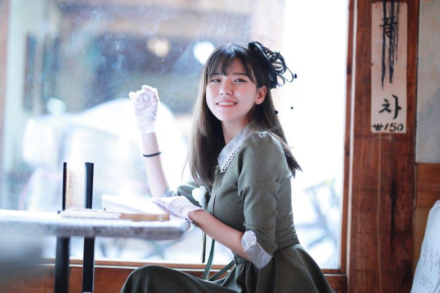 RZ COS 나리 빈티지 드레스 컨셉 화보 촬영
