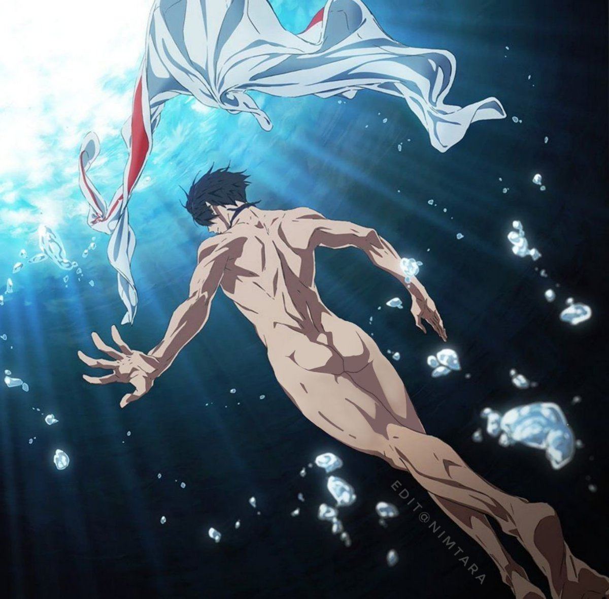 Free! -Dive to the Future- 공식(?) 나나세 ..