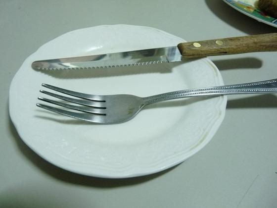 돈까스와 스테이크 나이프