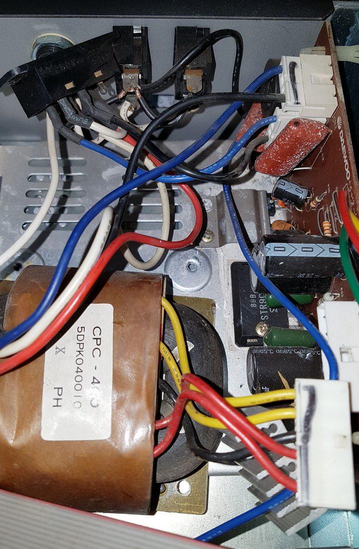 대우 CPC-400 (X-II) 파워 교체