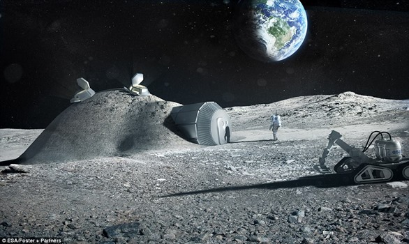 달에서 거주한다면. .