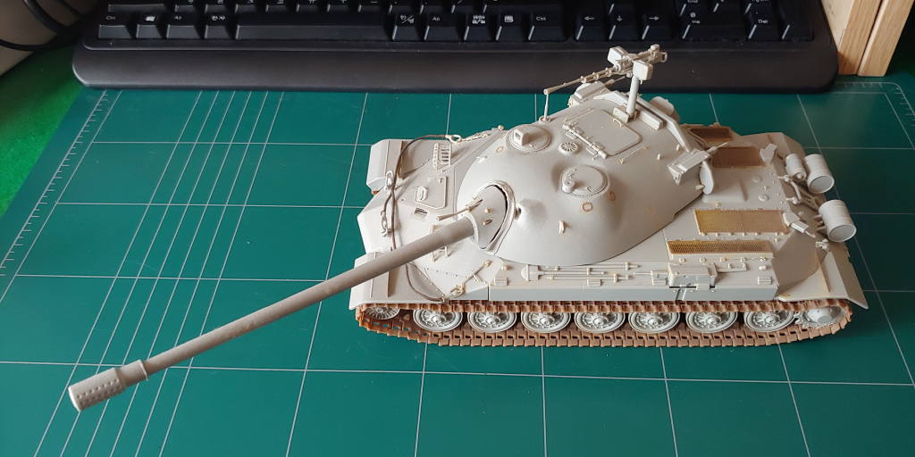 [1/35] Trumpeter IS-7 (JS-7) 도색 일지 - 1