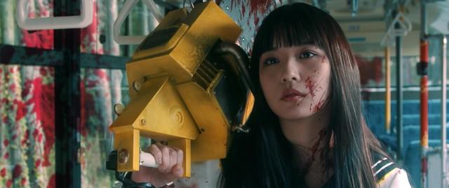 영화 '피투성이 스케반 체인소 RED'의 특보 영상이..