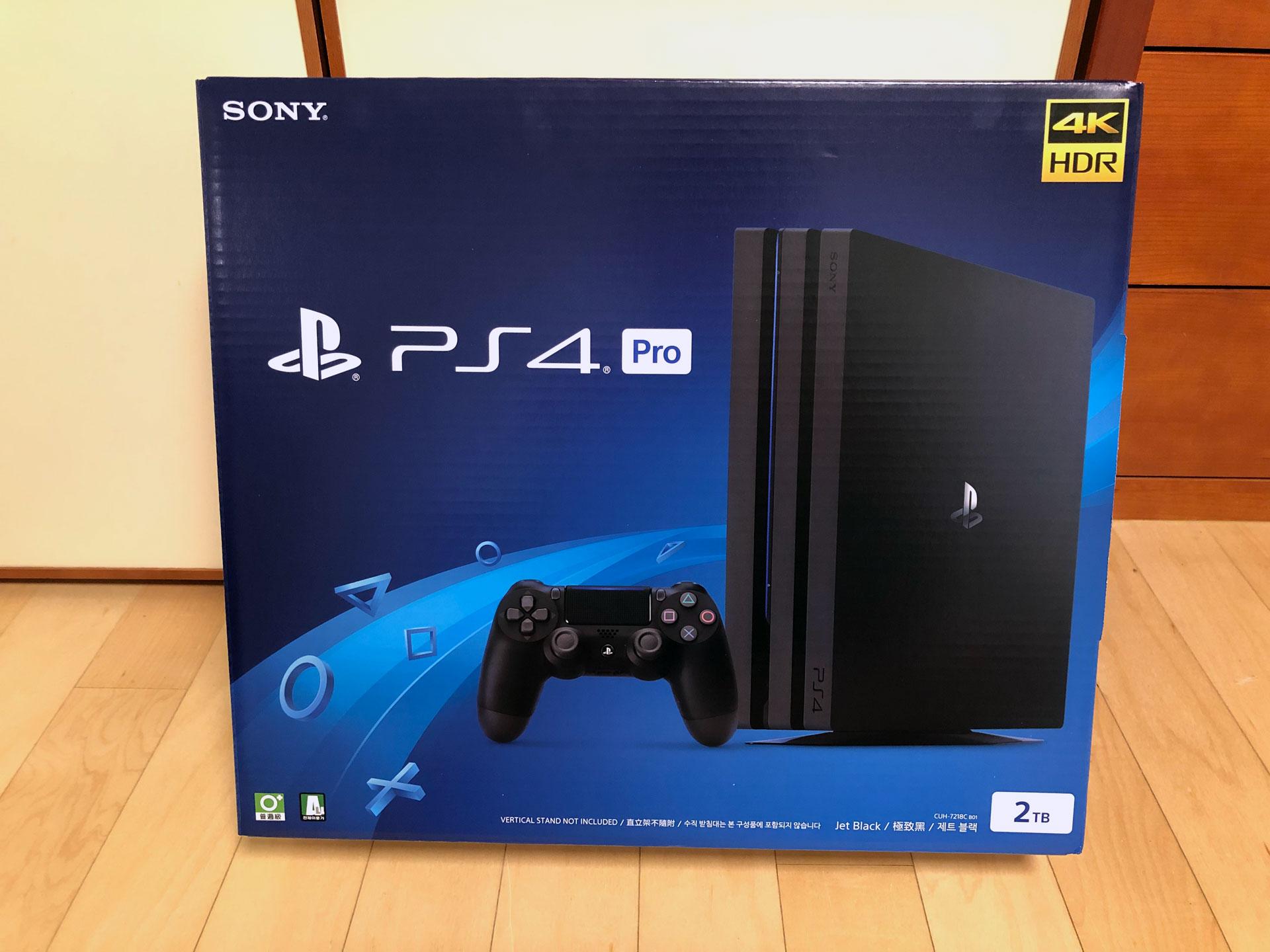 [PS4] PS4 PRO 신형(7218C) 2TB 개봉 및 사용기