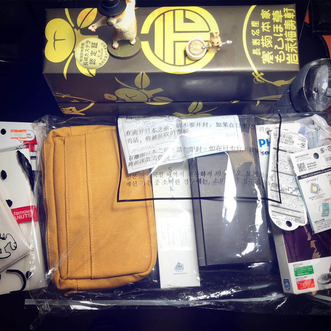 나가사키 여행에서 쇼핑한 것들
