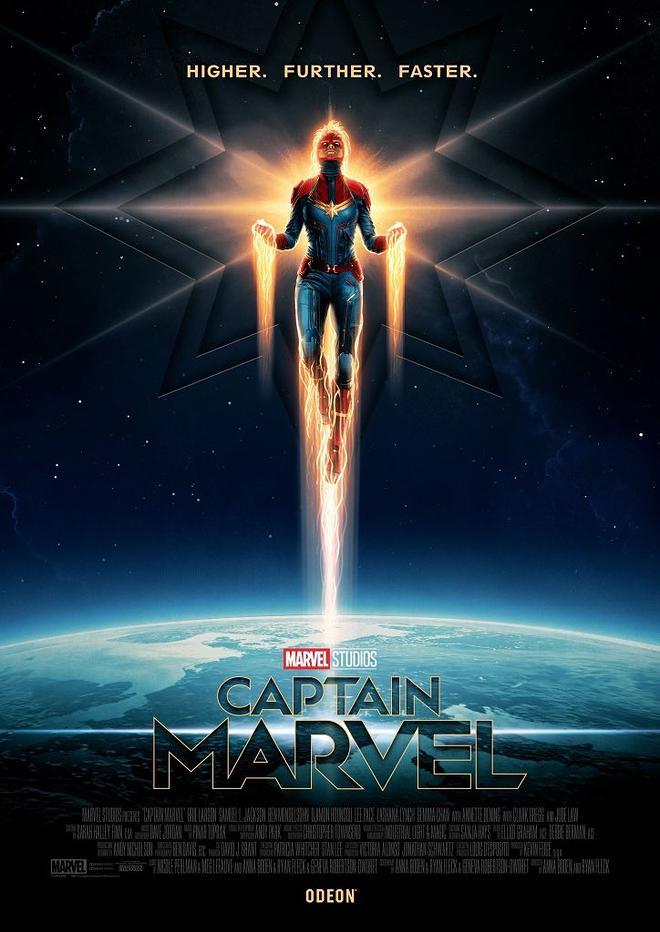 """""""캡틴 마블"""" 포스터와 이미지들 입니다."""