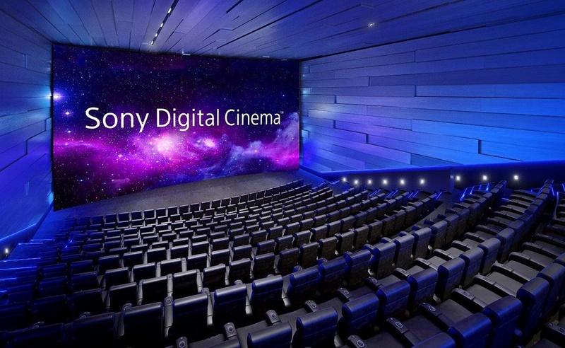 소니, 독자 영화 포멧을 활용한 영화관을 열 예정?