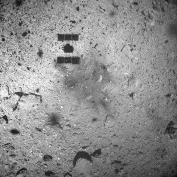 일본 하야부사2 류구 소행성 착륙성공