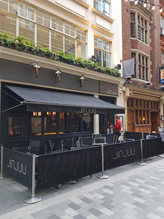 JINJUU 레스토랑 @London, UK