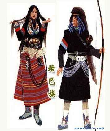 뤄바족의 조상신-아바다니
