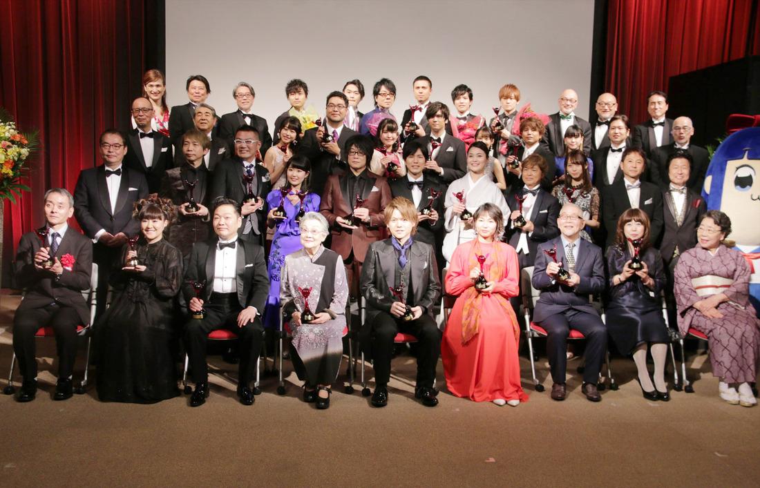 제 13회 성우 어워드 시상식 기념 사진이 올라왔더군요.