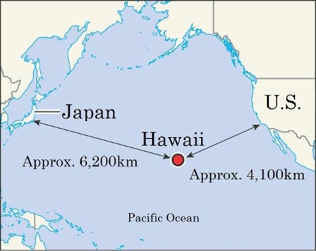 미국, 대-일본 태평양 전략의 2가지 경향은?