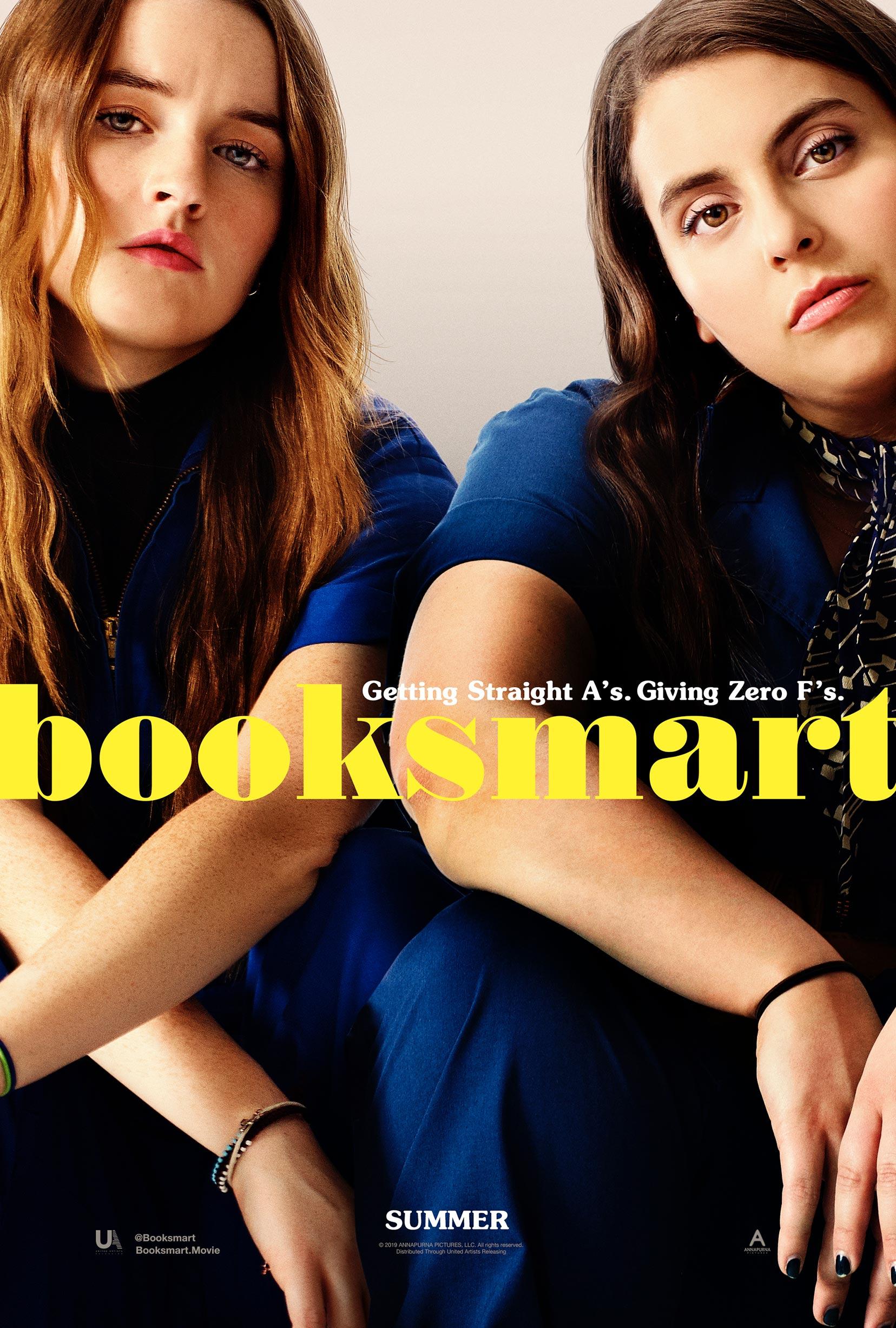 """""""Booksmart"""" 라는 작품입니다."""