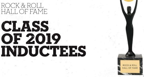 2019 락앤롤 명예의 전당 헌액자들과 뮤비