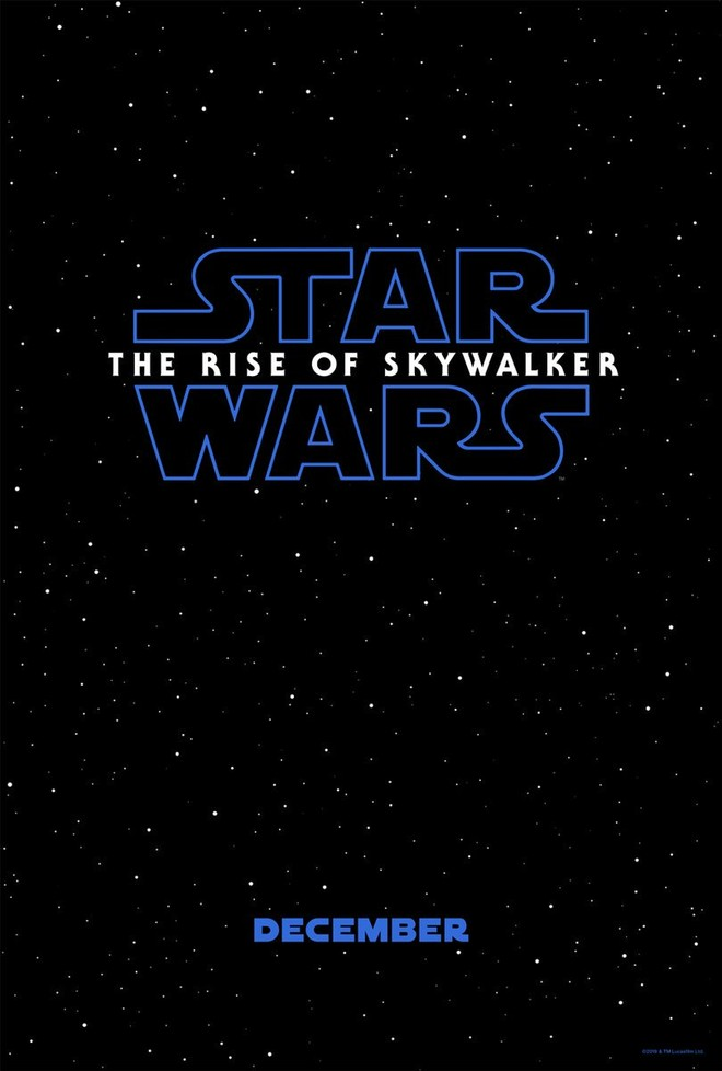"""Star Wars: The Rise of Skywalker"" 포스터와 .."