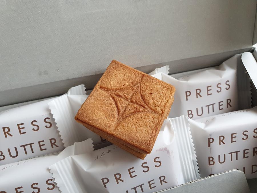 도쿄 여행 선물 - 프레스 버터 샌드
