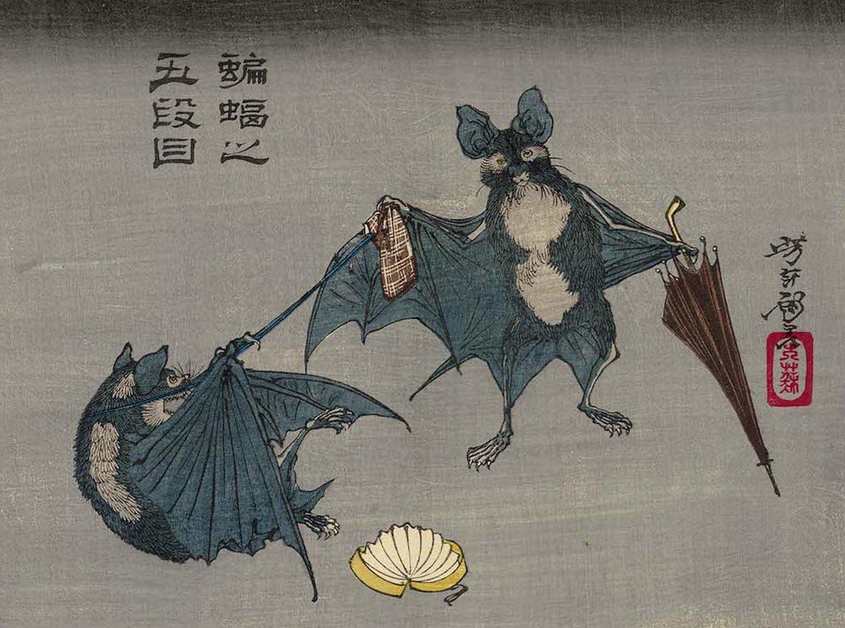 타치바나 난케이는 왜 박쥐를 몰라야만 했을까?