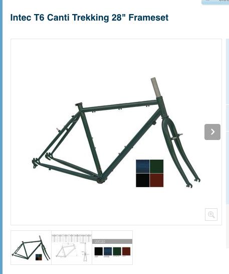 괜찮은 스틸 소재의 전전후형 자전거 intec 자전거