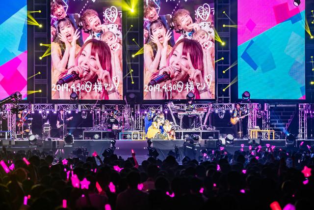 가수 LiSA가 2019년 4월 29일과 30일에 개최한 단독 라..