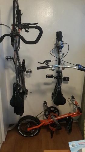 용도별 자전거 거치