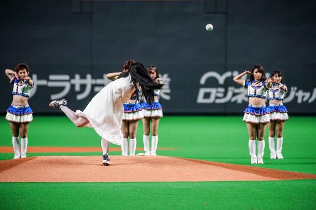 2019년 5월 12일, 홋카이도 삿포로돔에서 '사다코'가..