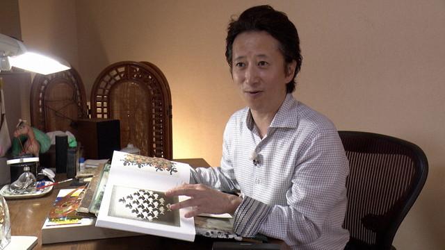 NHK 교육TV에서 방송되는 '일요미술관'에 '아라키..