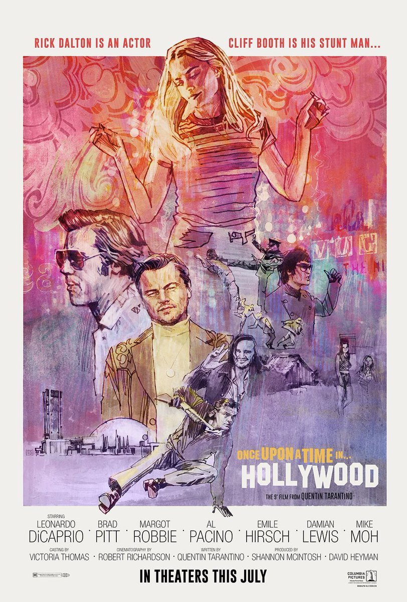 """Once Upon a Time... in Hollywood"" 예고편.."
