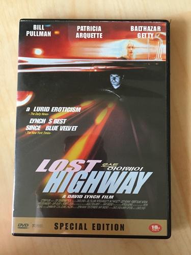 """""""로스트 하이웨이"""" DVD를 샀습니다."""